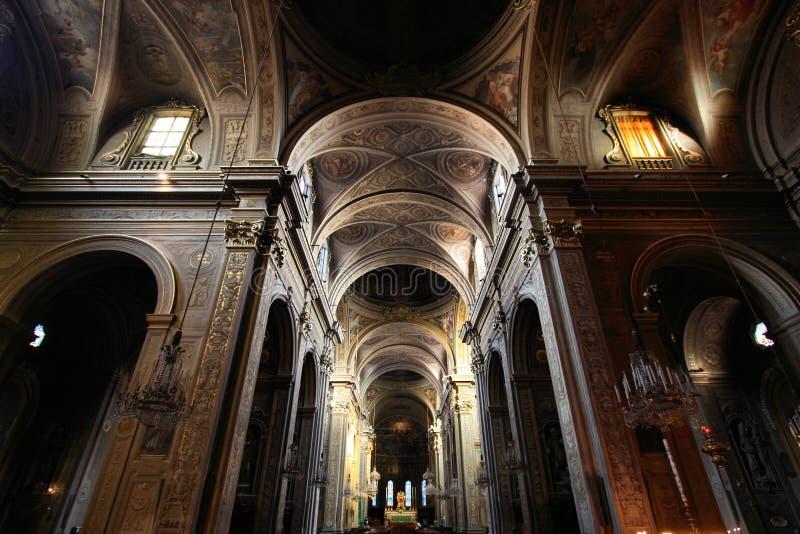 大教堂费拉拉 免版税库存图片