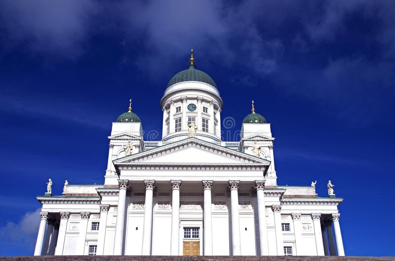 大教堂赫尔辛基 免版税图库摄影