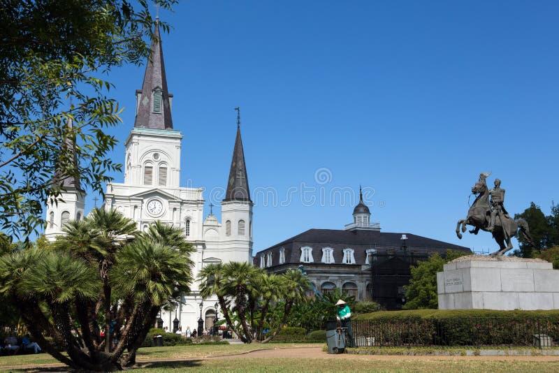 大教堂路易斯圣徒 库存照片