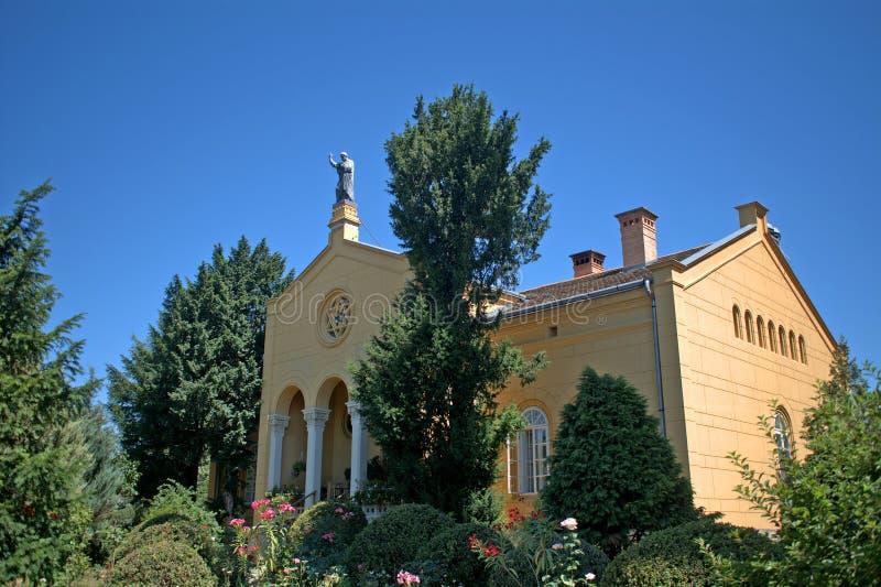 大教堂, FOT,匈牙利 免版税库存照片