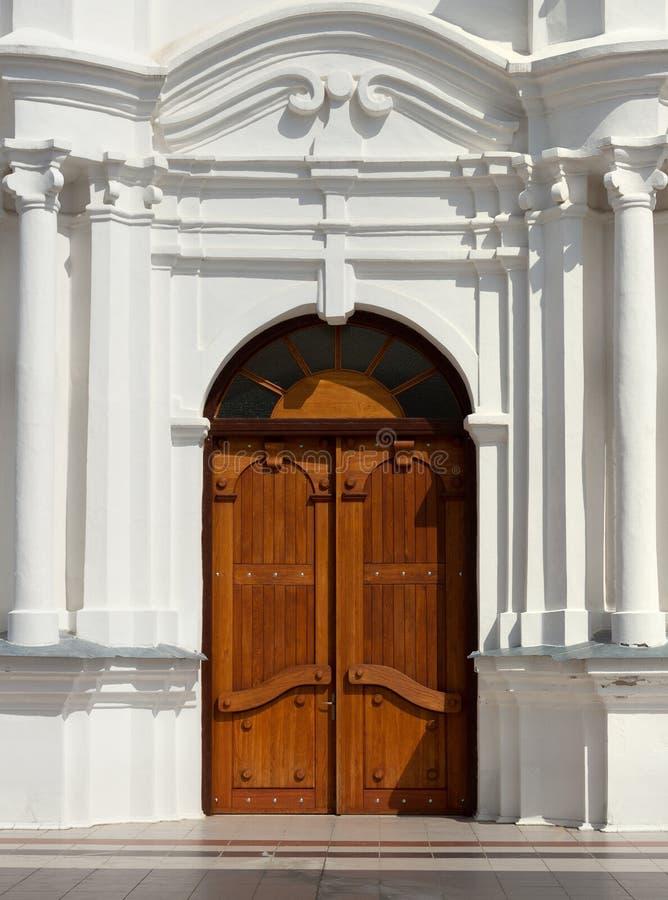 大教堂细节在Aglona 免版税库存照片