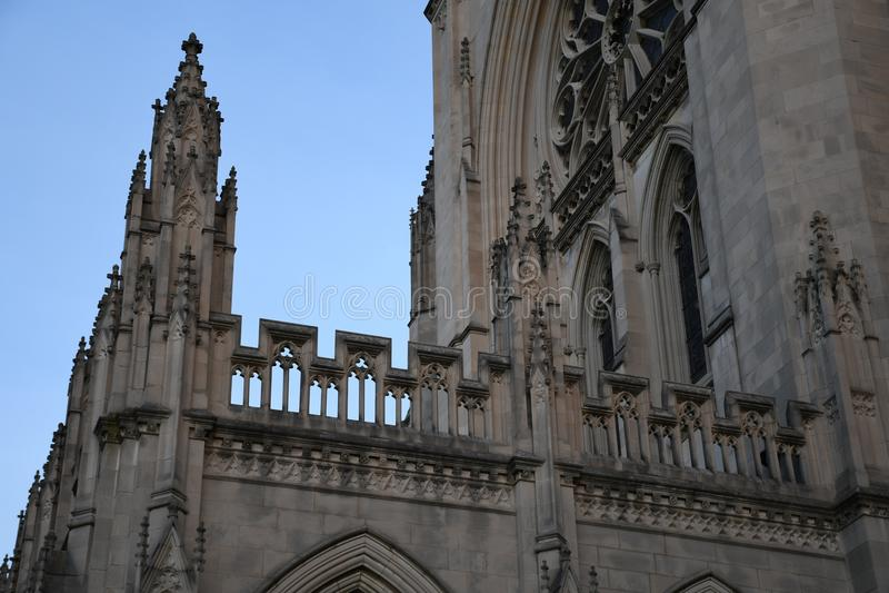 大教堂dc国民华盛顿 免版税库存图片