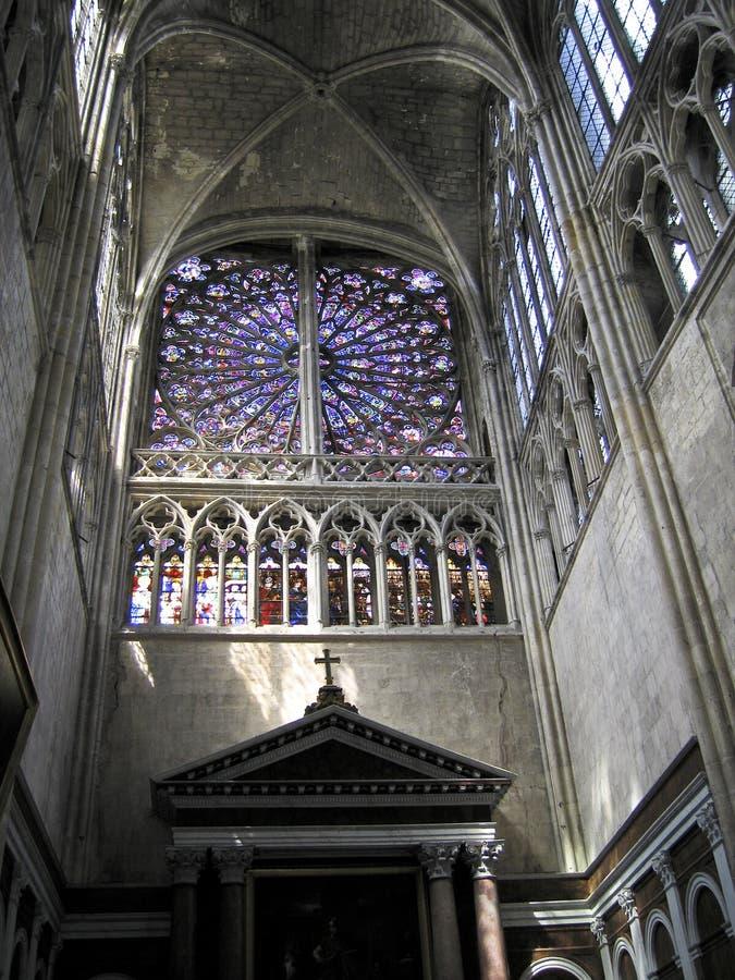大教堂gatien s圣徒 免版税库存照片