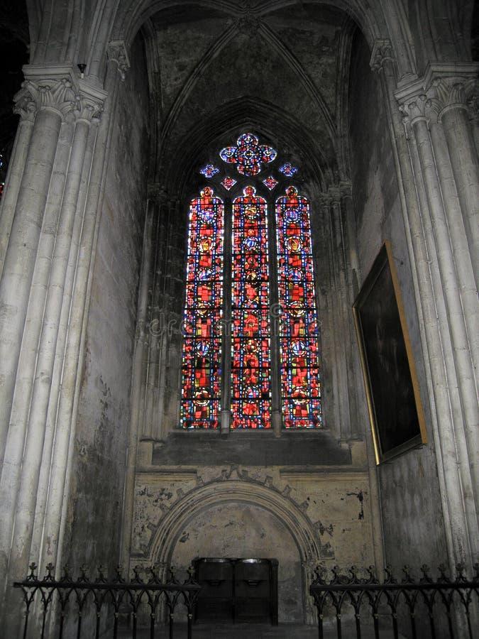 大教堂gatien s圣徒 库存图片