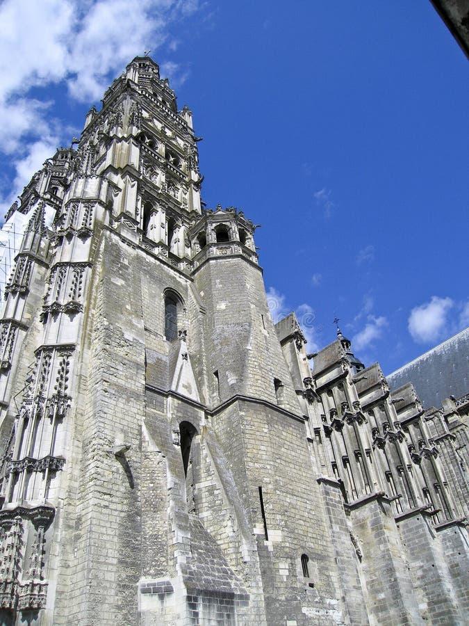 大教堂gatien s圣徒 免版税图库摄影