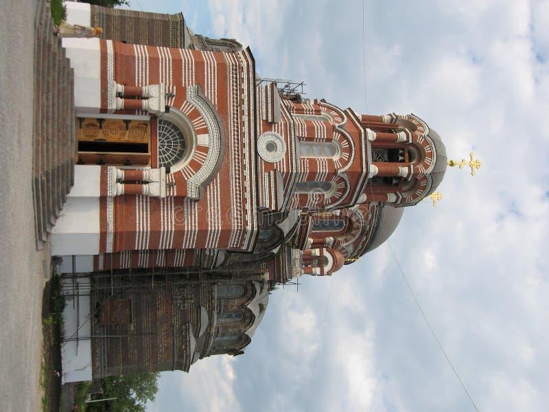 大教堂kolomna俄国三位一体 图库摄影