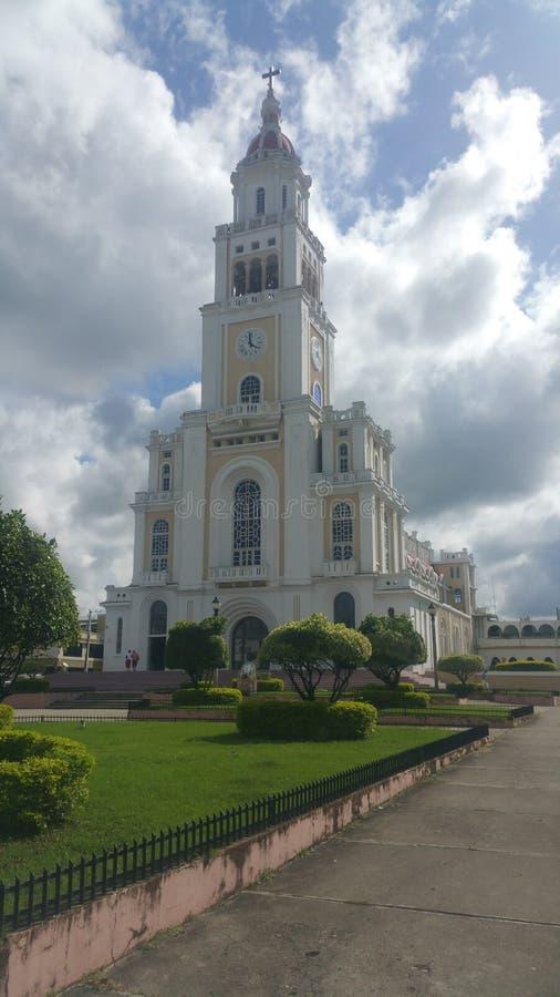 大教堂Moca, Catedral de Moca 图库摄影