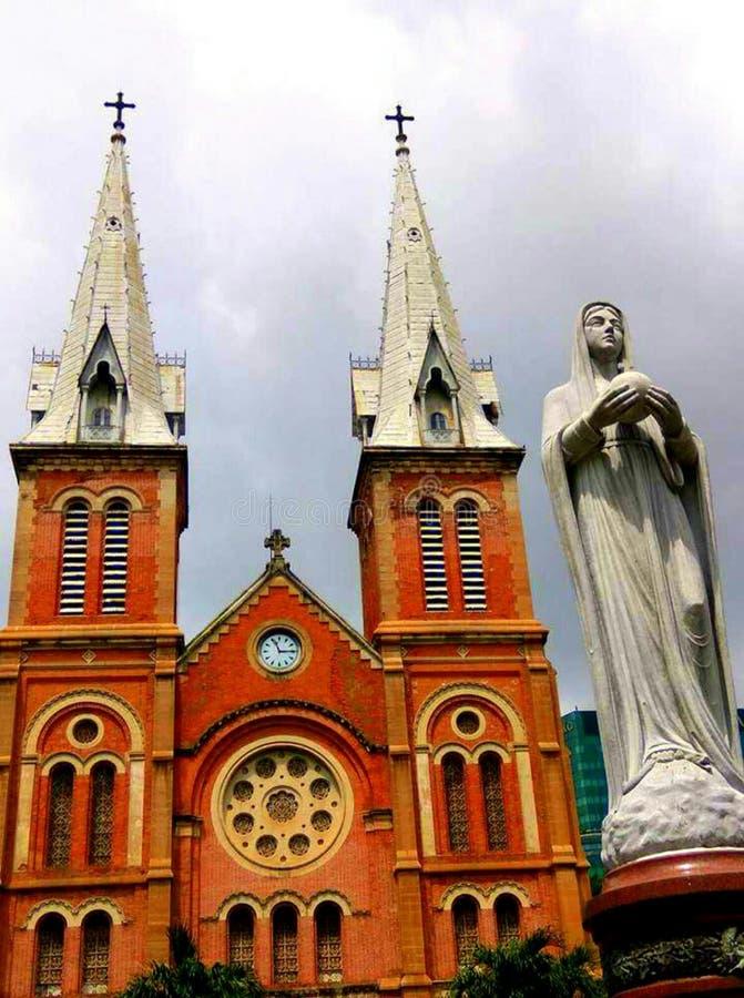 大教堂Notre Dame 免版税库存照片