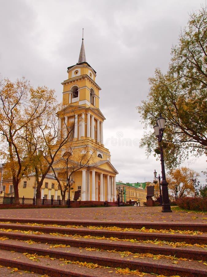 大教堂preobrazenskiy spaso 库存照片