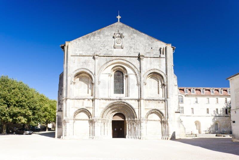 大教堂saintes 图库摄影