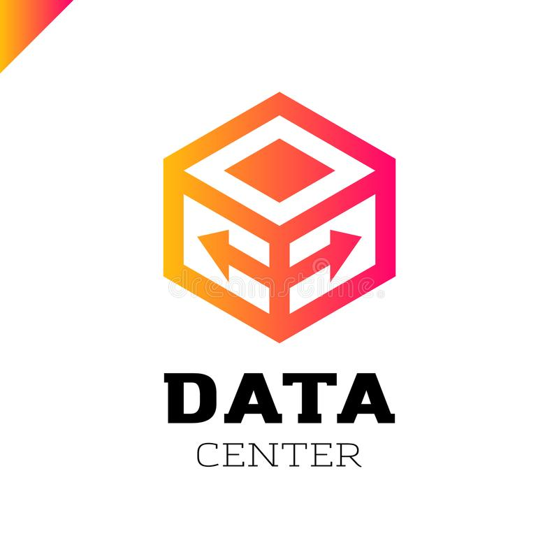 大数据和技术象 库存例证