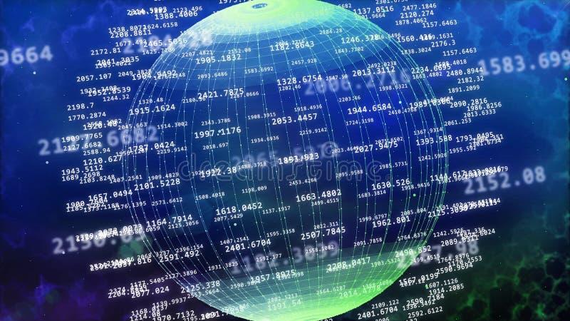 大数据概念 库存例证