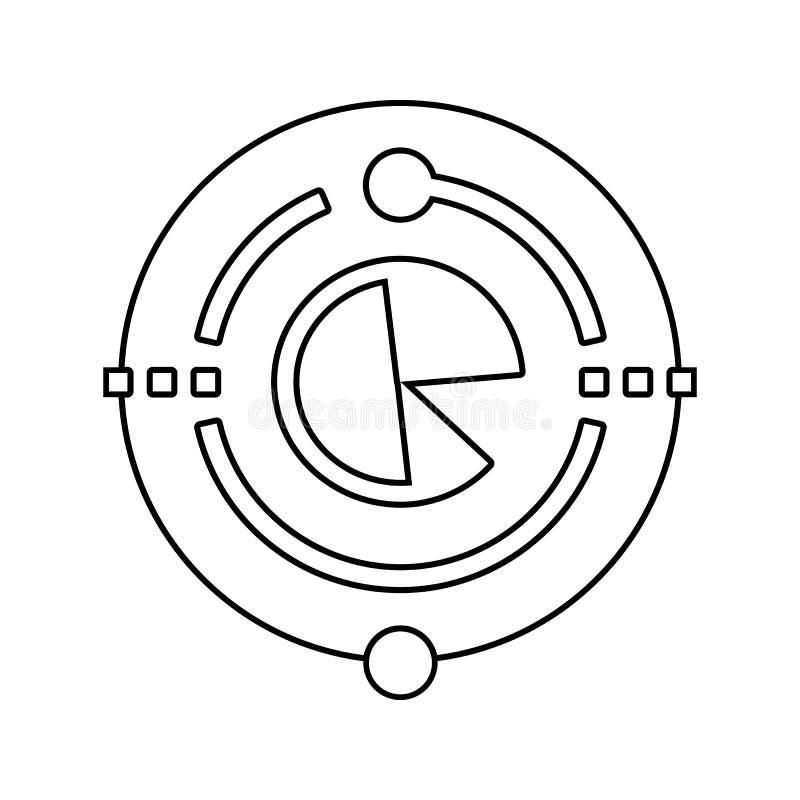 大数据象 网络安全的元素流动概念和网应用程序象的 网站设计和发展的稀薄的线象, 皇族释放例证
