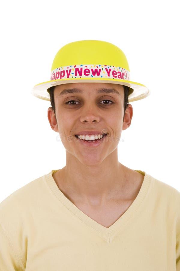 大新的微笑年 免版税图库摄影
