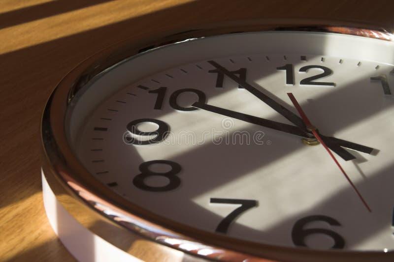 大时钟关闭 图库摄影