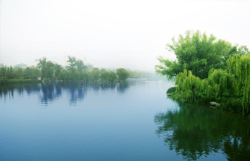 大明湖 免版税库存图片
