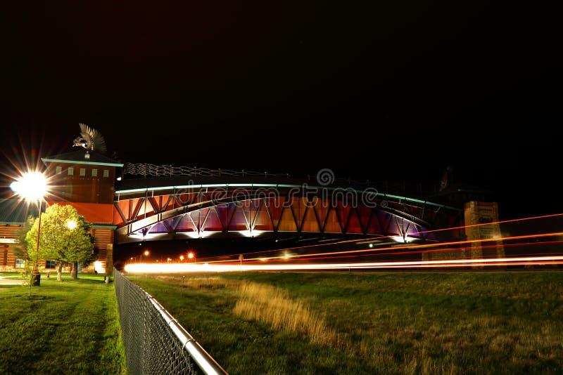大普拉特河路拱道纪念碑 图库摄影