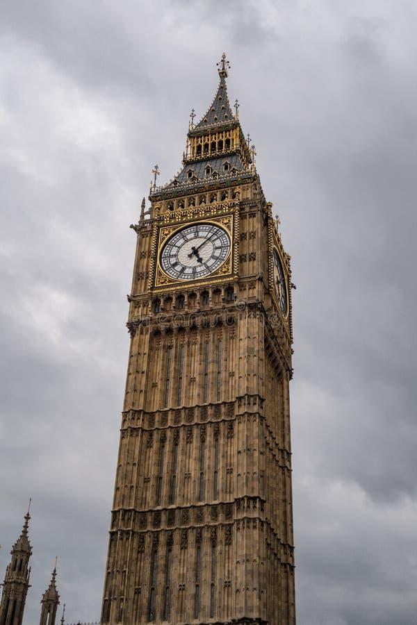 大本钟在伦敦 英国英国 库存照片
