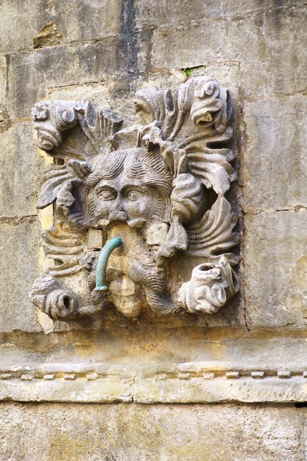 大杜布罗夫尼克市喷泉onofrio s 库存照片