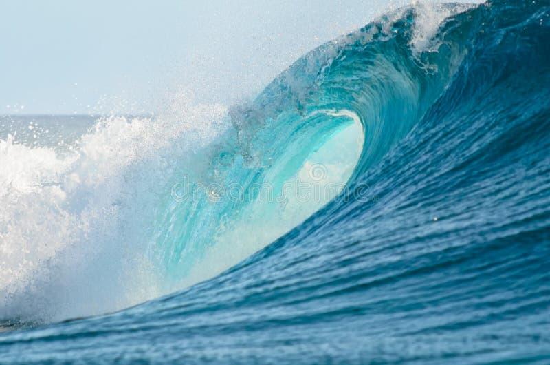 大桶波浪 库存照片