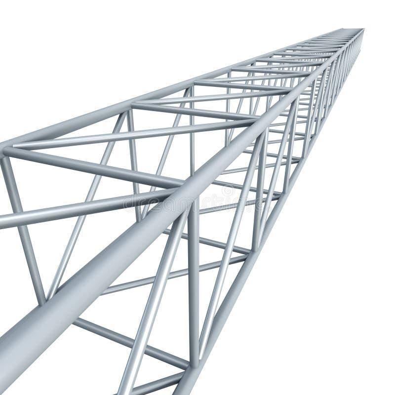 大梁钢 向量例证