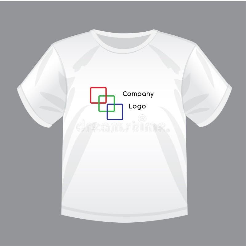 大模型有商标的例证衬衣您的设计的 皇族释放例证