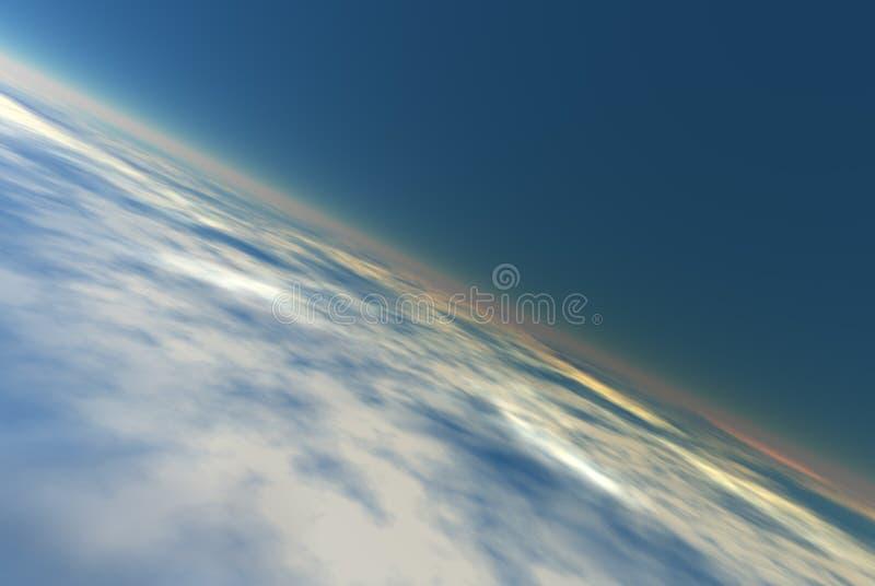 大气背景 向量例证