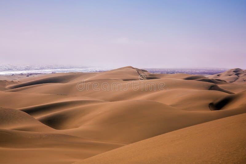 大沙丘 库存照片