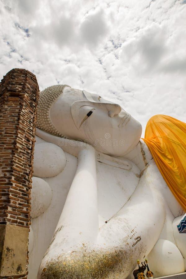 大泰国菩萨雕象 免版税图库摄影