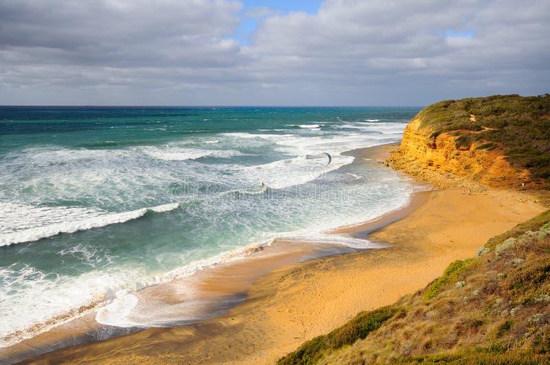 大洋路路线在澳大利亚 免版税库存图片