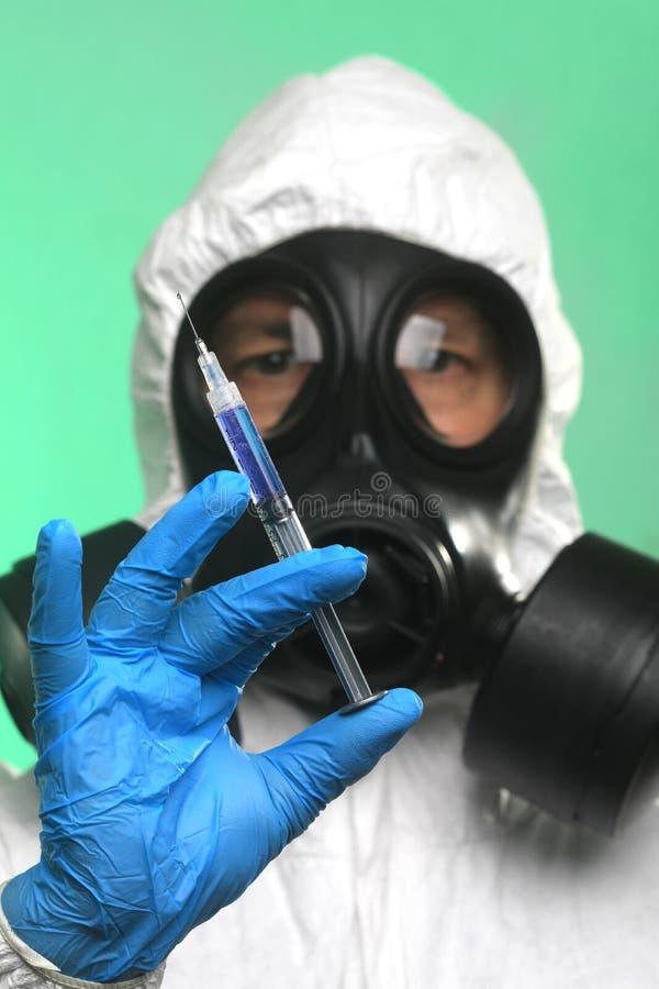 大流行病病毒爆发后的医疗保健对策 免版税库存图片