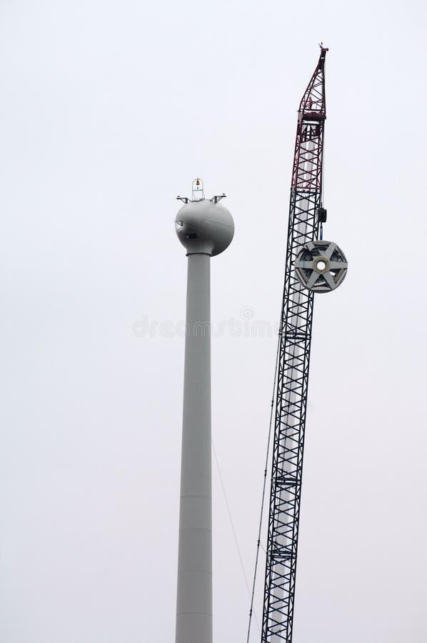大涡轮风 免版税库存图片