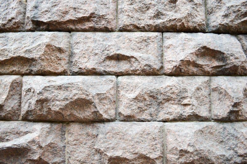大灰色石砖 库存图片