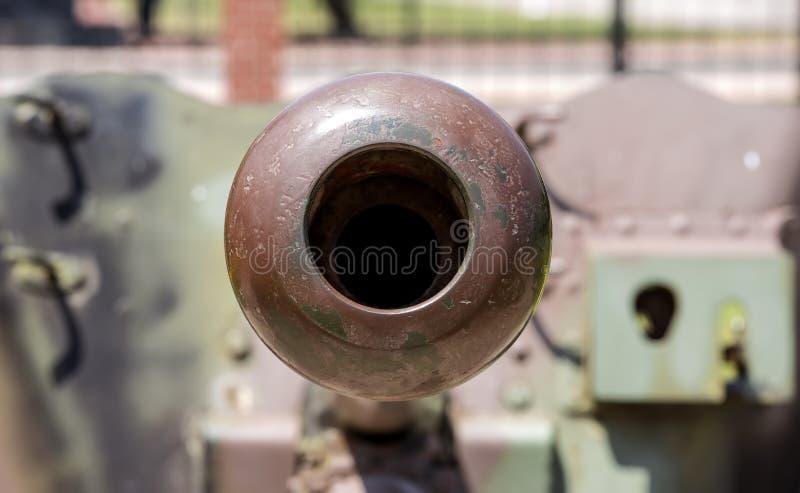 大炮喷管  免版税库存图片