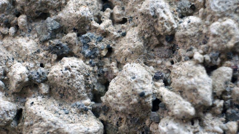 大炮灰黑砂石 库存图片