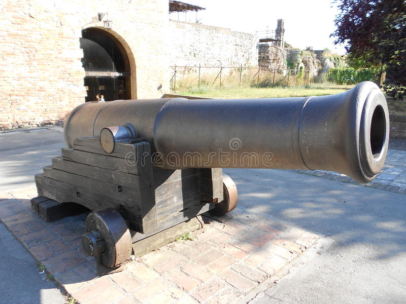 大炮 库存图片