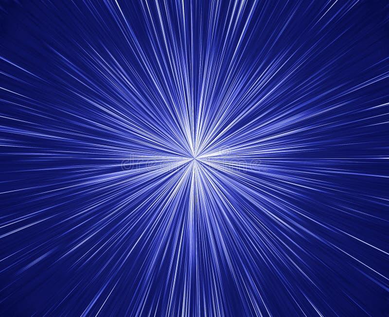 大爆炸星形 库存例证