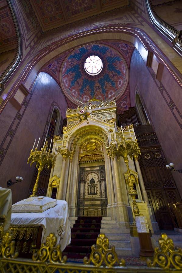 大犹太教堂 免版税库存图片