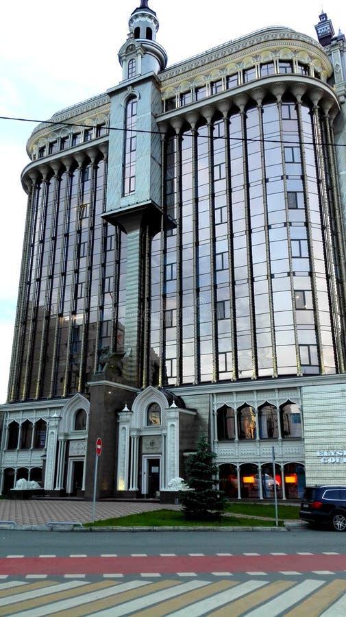 大现代办公楼 库存照片