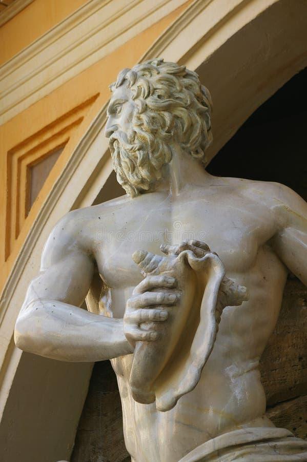 大理石复制品雕塑 免版税库存照片