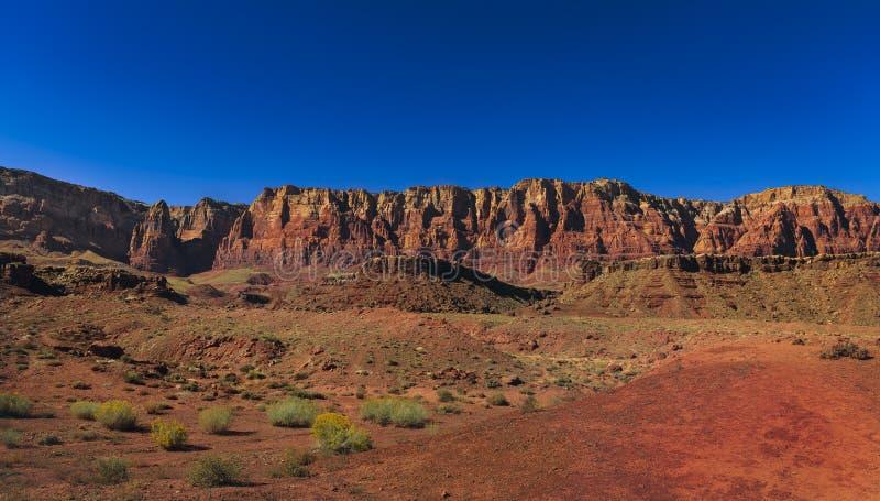 大理石峡谷, AZ 免版税库存图片