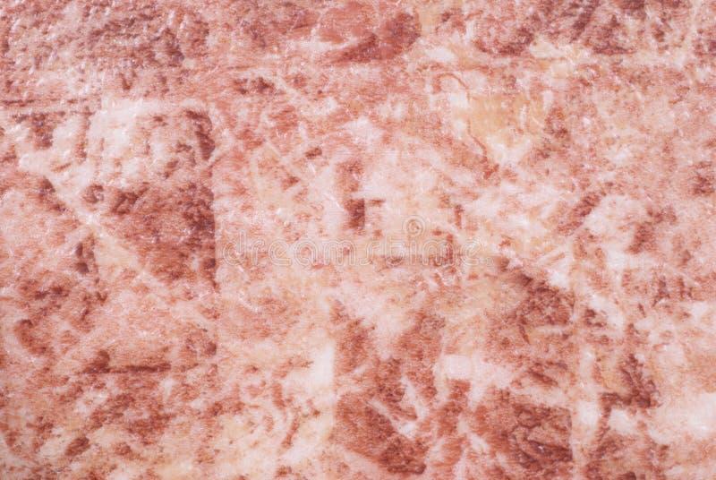 大理石桃红色纹理 库存图片