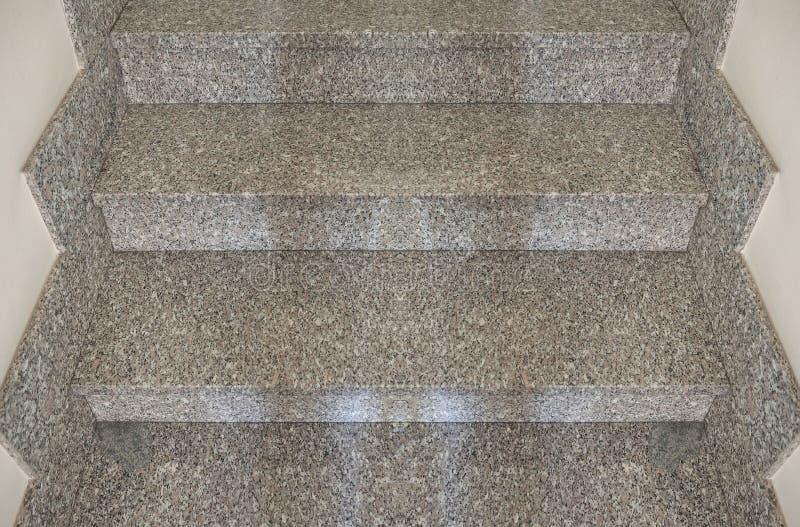 大理石楼梯步 免版税库存照片