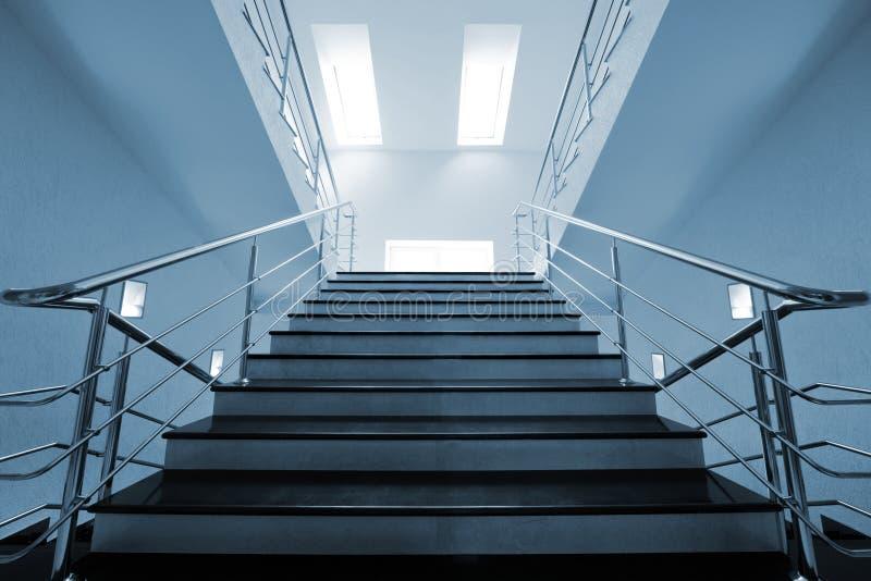 大理石楼梯 免版税图库摄影