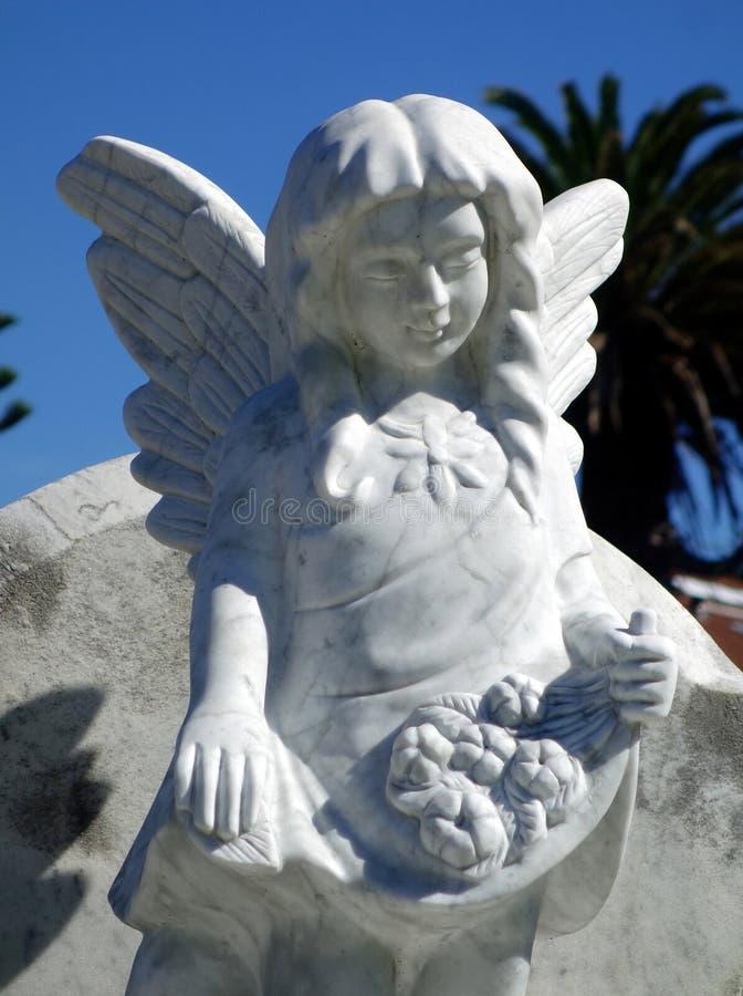 大理石殡葬雕象 库存照片