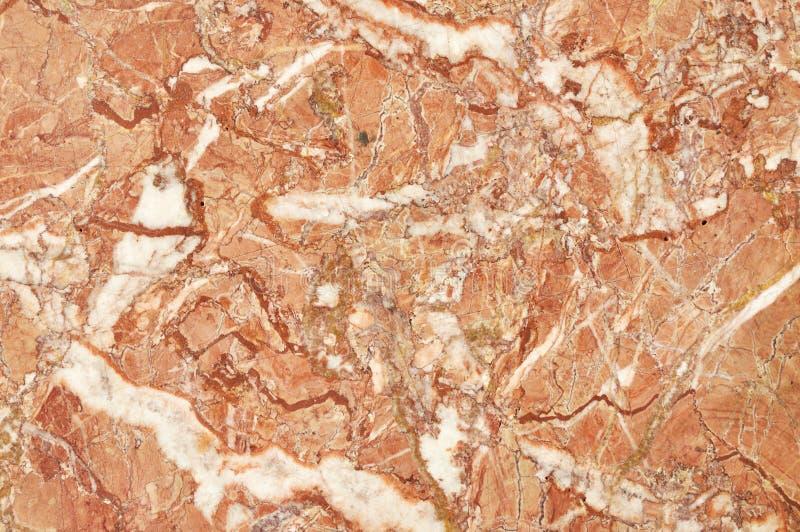大理石的表面与棕色色彩的 免版税图库摄影