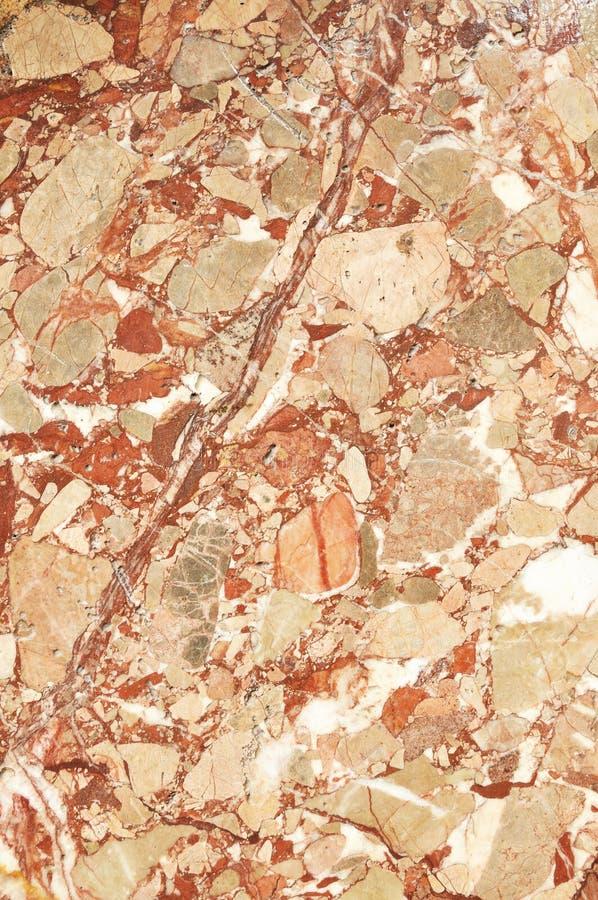 大理石的表面与棕色色彩的 免版税库存图片