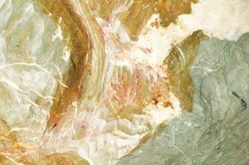 大理石的表面与棕色色彩的 免版税库存照片
