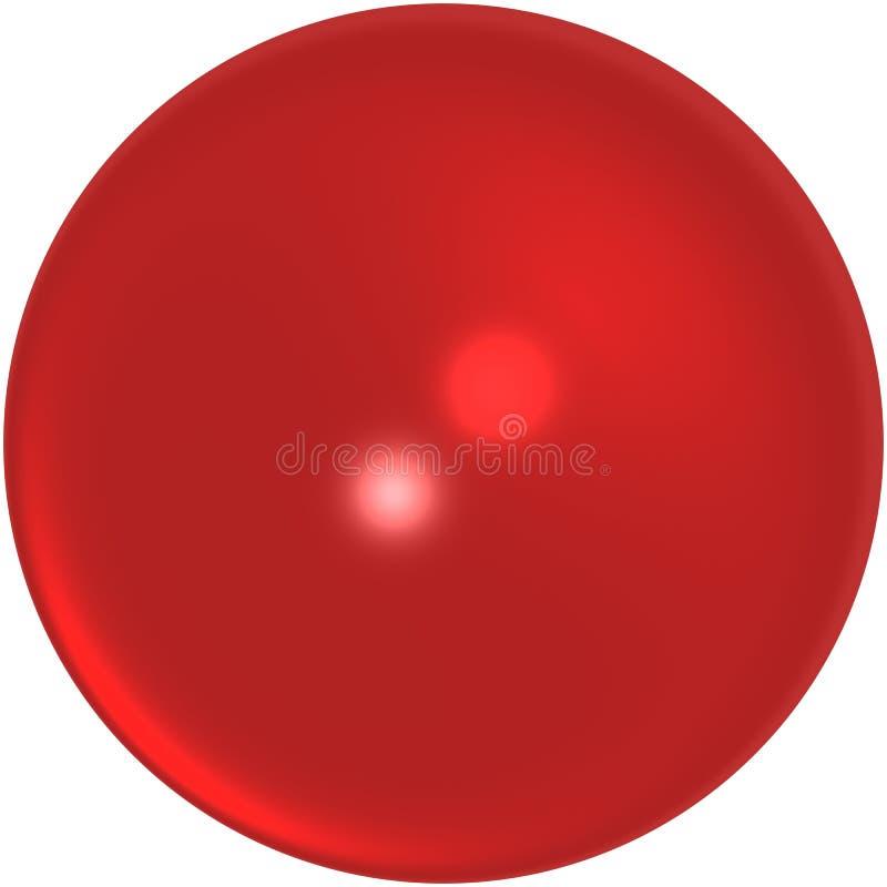大理石红色 向量例证
