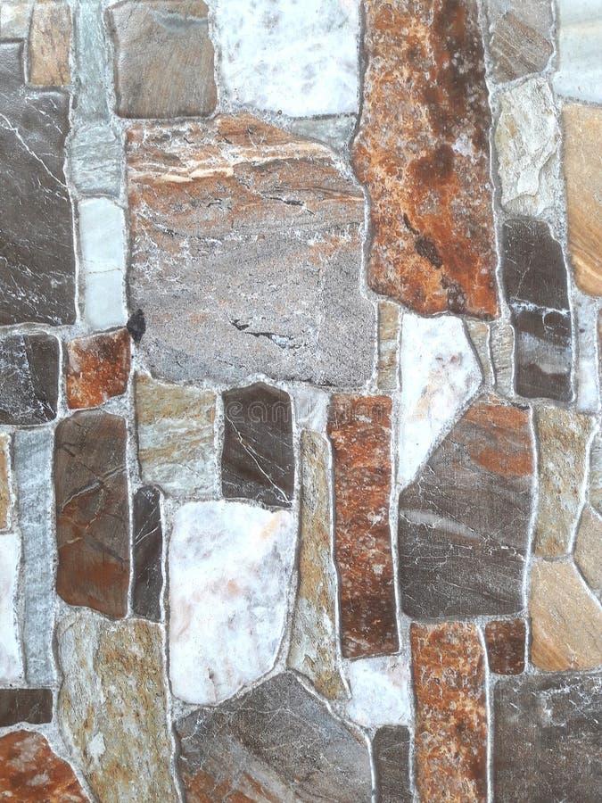 大理石背景,许多五颜六色的样式在一起生活 库存照片